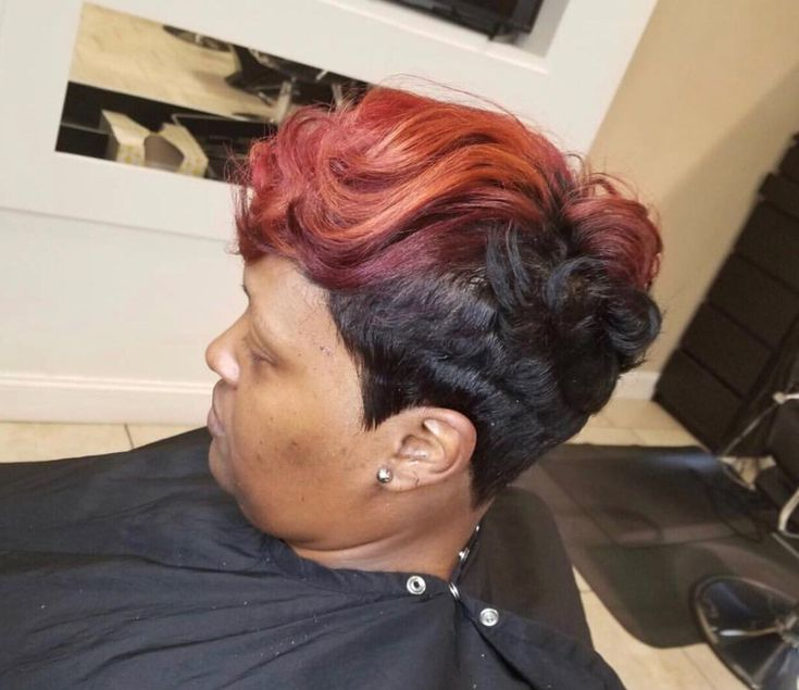 Beautiful cut and color by Keisha Mines - blackhairinformat...