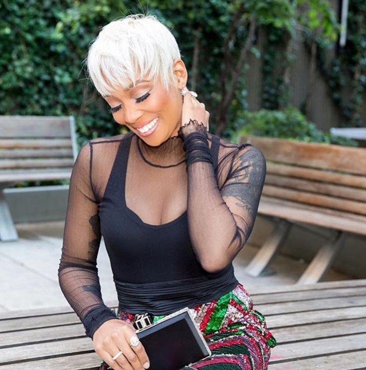 Beautiful Monica Brown - blackhairinformat...