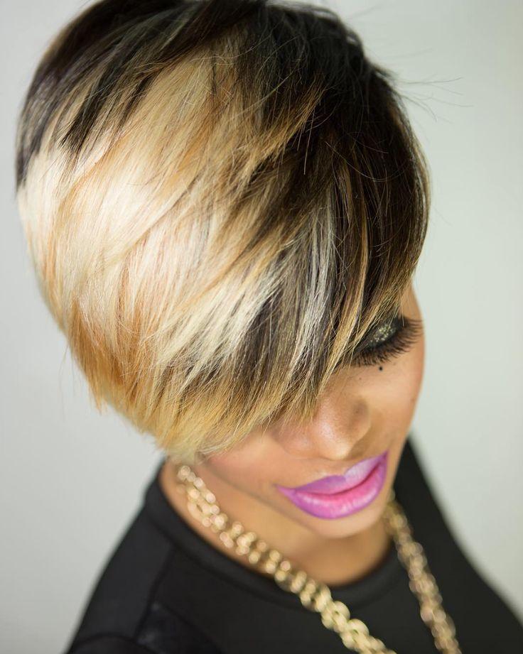Blonde mix by @keena360 - blackhairinformat...