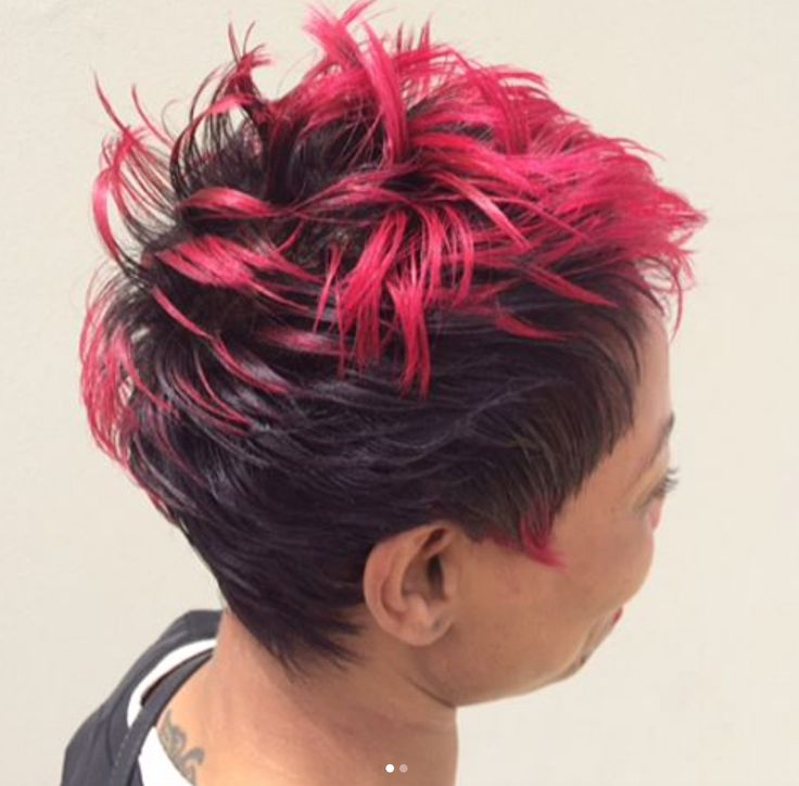 Bold color by @nomehayes - blackhairinformat...