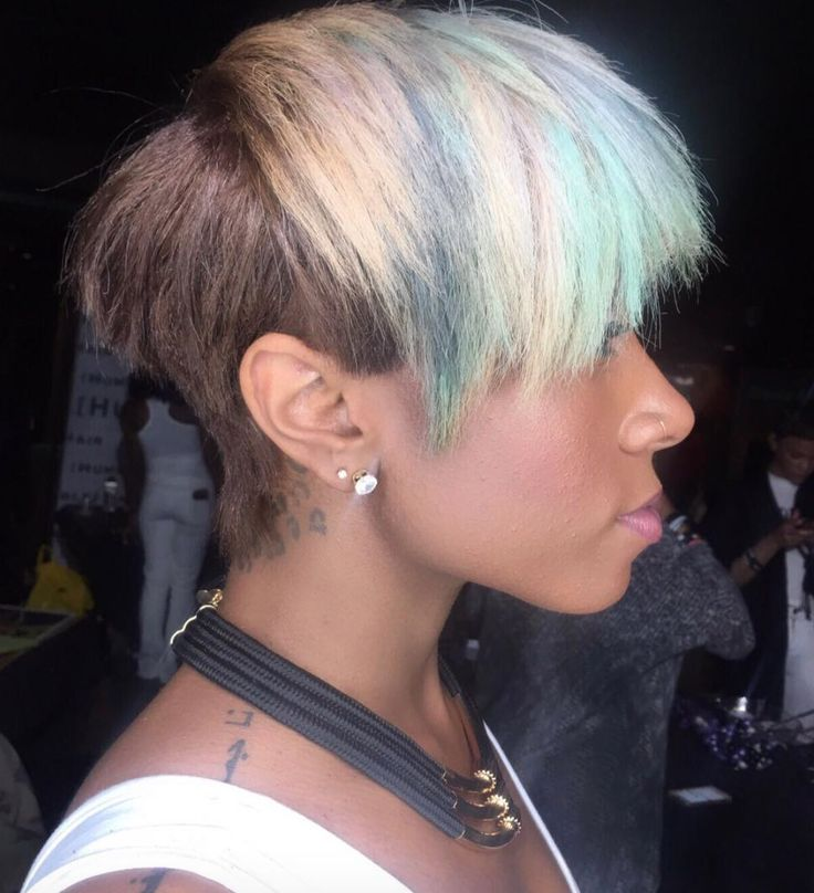 Cotton candy hair Kristy Arie - blackhairinformat...