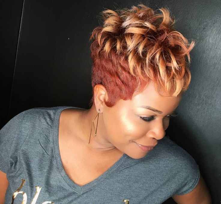 Cut and color slay by @khimandi - blackhairinformat...