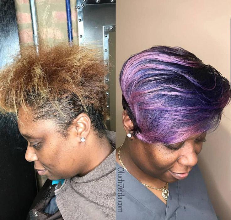 Dope color transformation Oluchi Opara - blackhairinformat...