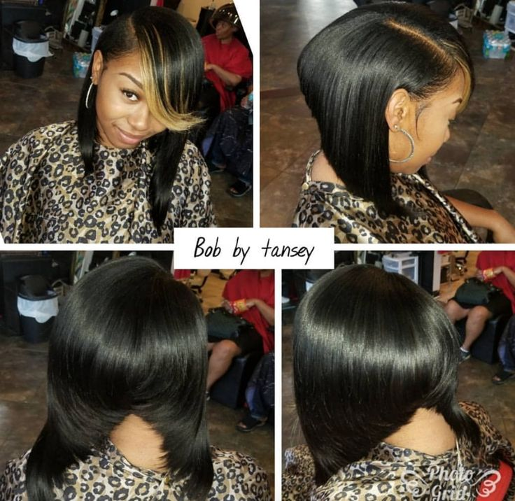 Edgy bob @ms_tansey - blackhairinformat...