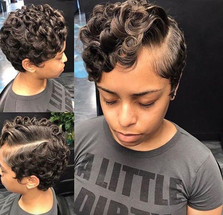 Fresh curls by @nickeyg_herplacesalon - blackhairinformat...