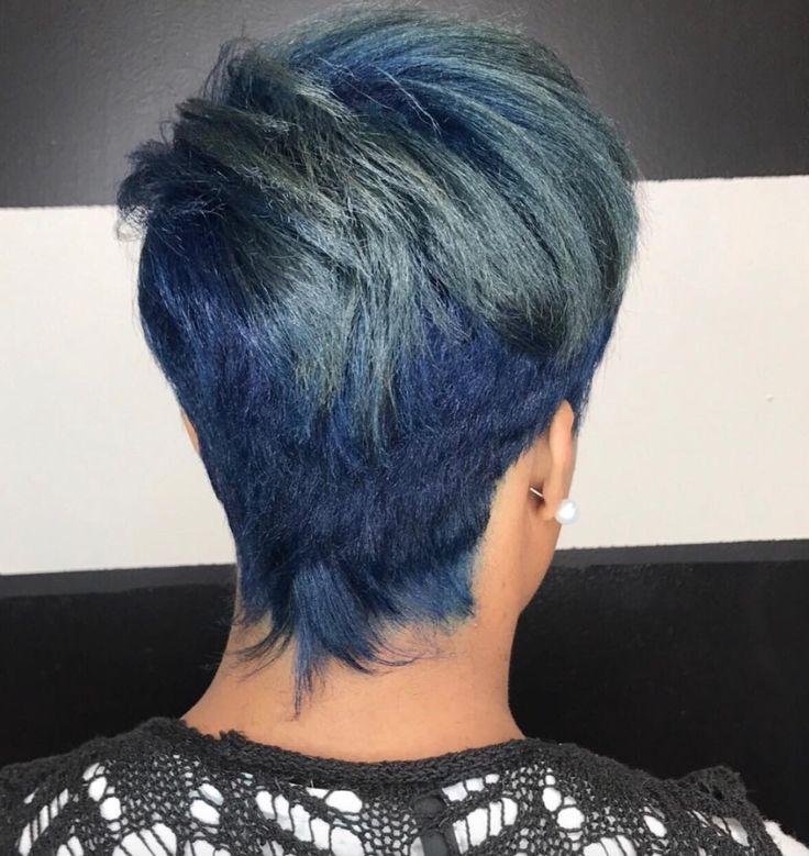 Fun blue by Kisha Jefferson - blackhairinformat...