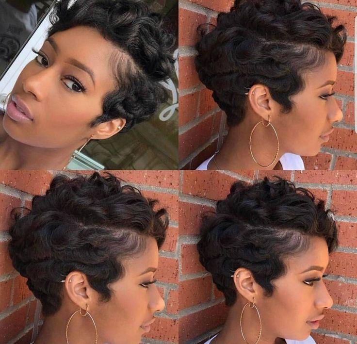 Gorgeous cut and style by @salonshavon - blackhairinformat...