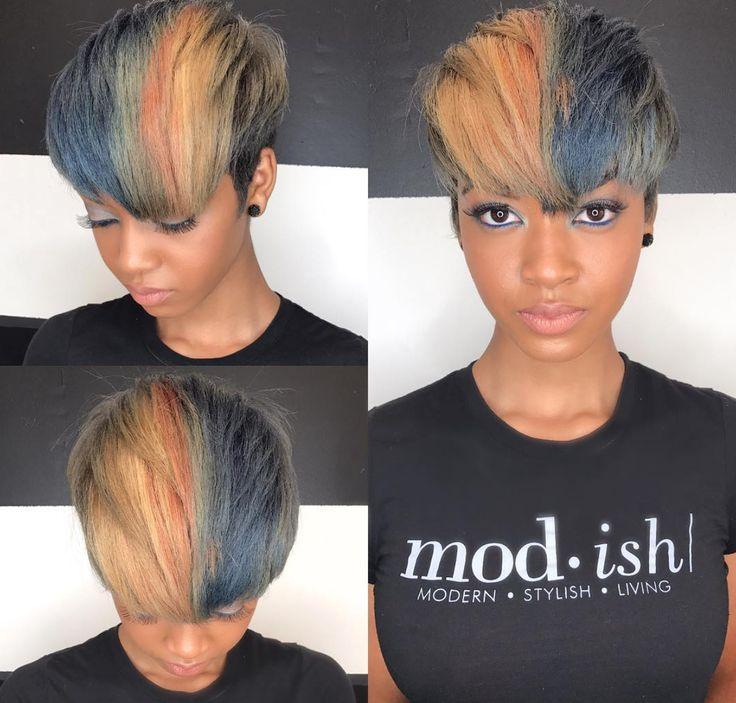 Mod cut and color by Kisha Jefferson - blackhairinformat...