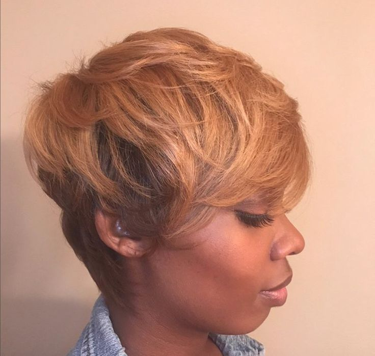Pretty cut and color by @shearbangin - blackhairinformat...
