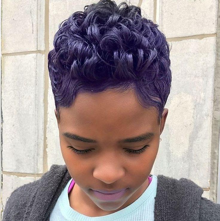 Pretty purple @lori_theexclusivestylist - blackhairinformat...