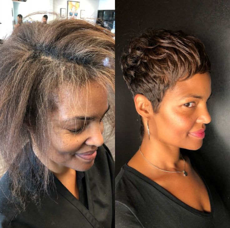 Transformation by @khimandi - blackhairinformat...