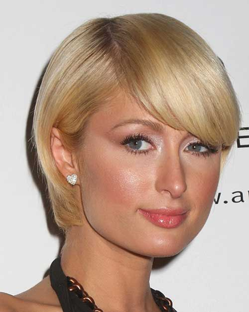 10 Bob Hairstyles With Bangs For Round Faces - 5 #Hairstyles
