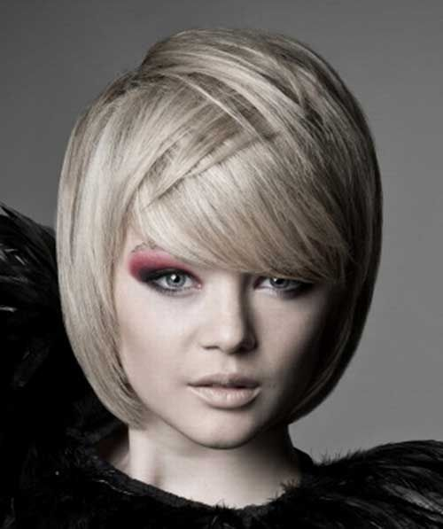 15 Best Bob Haircuts for Round Faces - 8 #Hairstyles