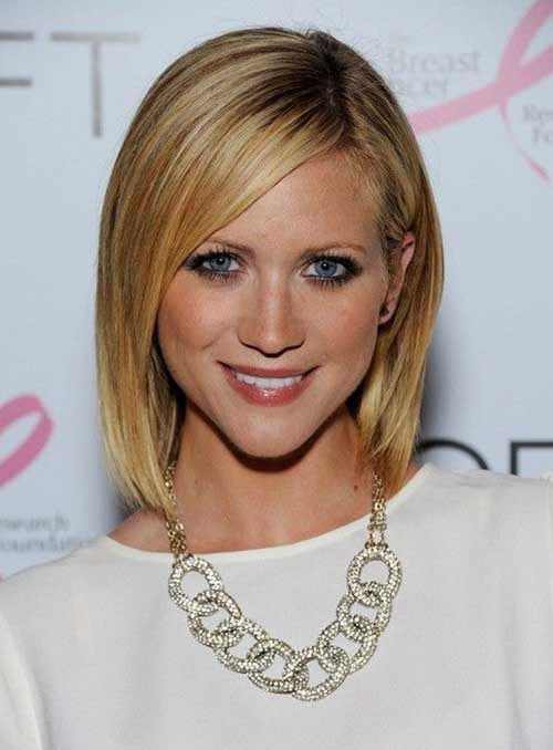 15 Good Layered Bob with Side Bangs - 13 #Hairstyles