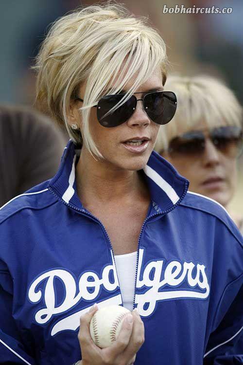 15 Victoria Beckham Blonde Bob Hairstyles #BobHaircuts