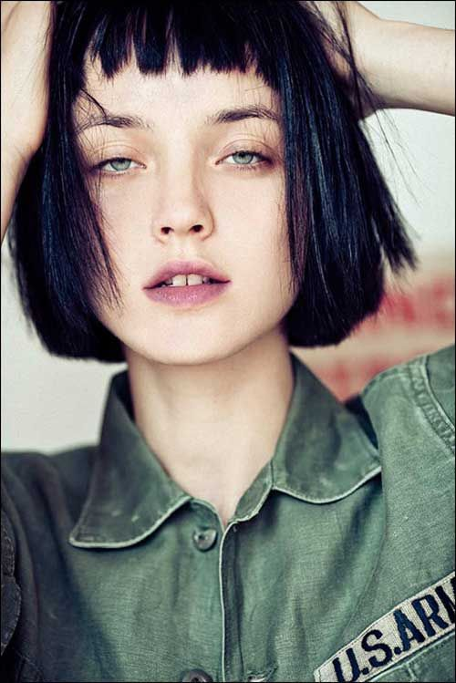 20 Best Blunt Bob Haircuts - 13 #Hairstyles