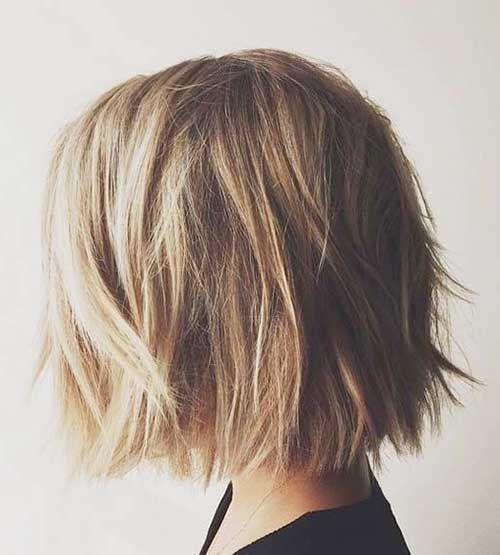 20 Chic Short Medium Hairstyles for Women - 13 #Hairstyles