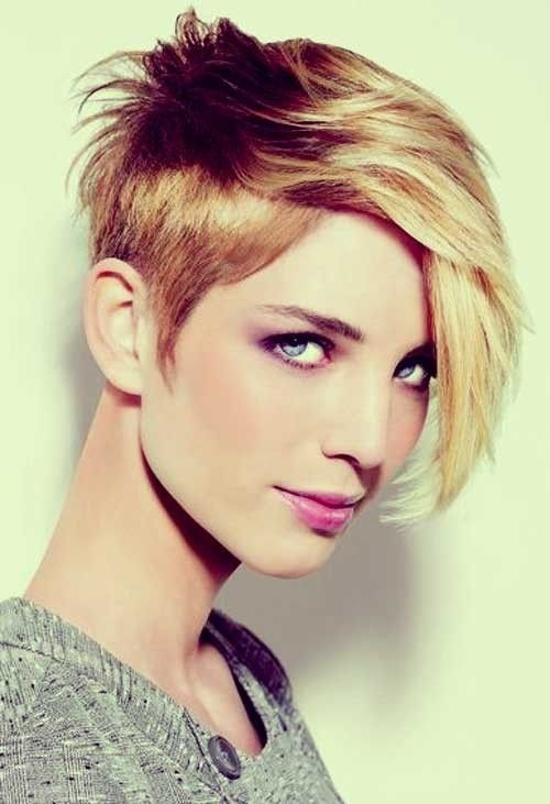22 Cool Short Hairstyles for Thick Hair 2015 #BobHairstyles