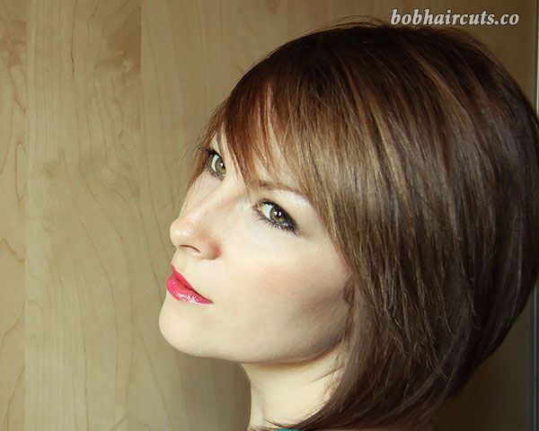 28 Modern-Chic Layered Bob Hairstyles for Women 15 #