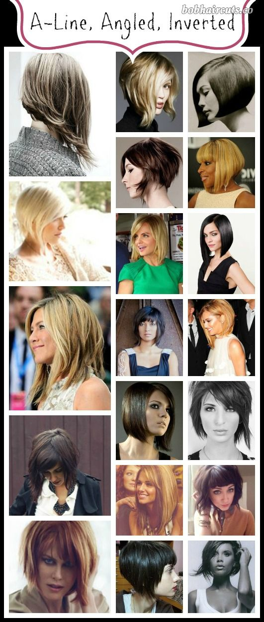 7 Different Kinds of Bob Hairstyles - 3 #BobHaircuts