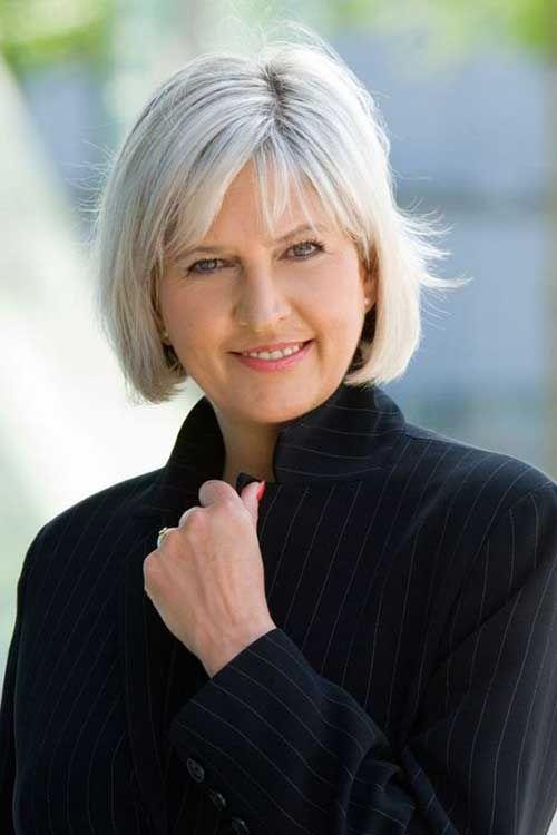 9.Short Haircut for Older Women