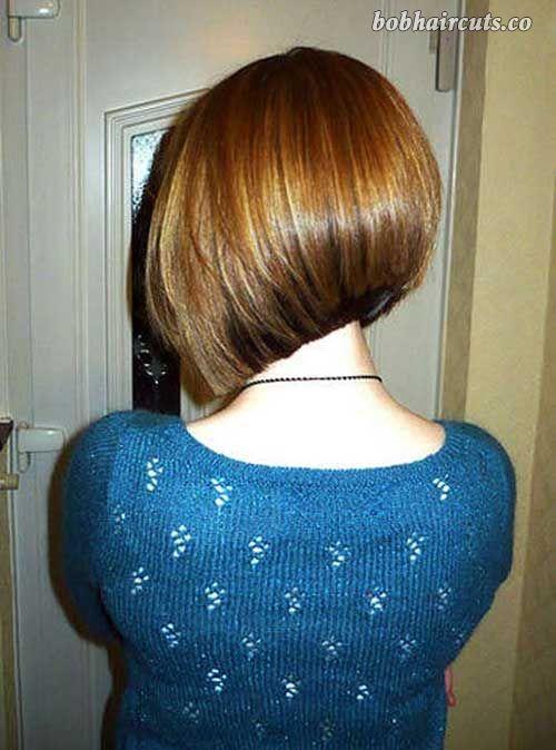 Trendy Haircuts Back View Of Short Bob Haircuts Bobhaircuts