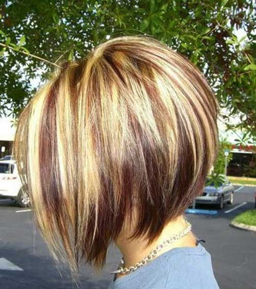 Trendy Haircuts Bob Hairstyles With Colors 1 Hairstylesg Beauty