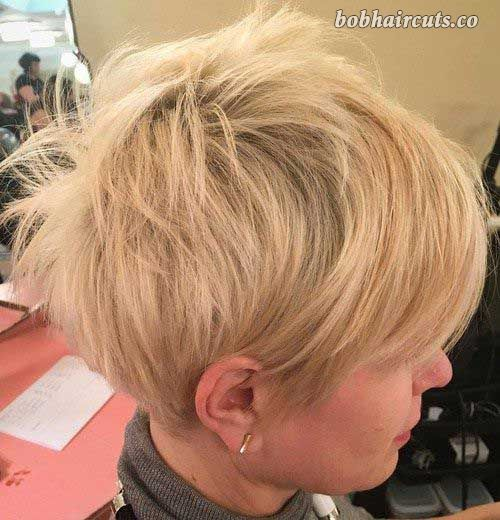 Really Stylish Short Choppy Haircuts for Ladies #BobHaircuts
