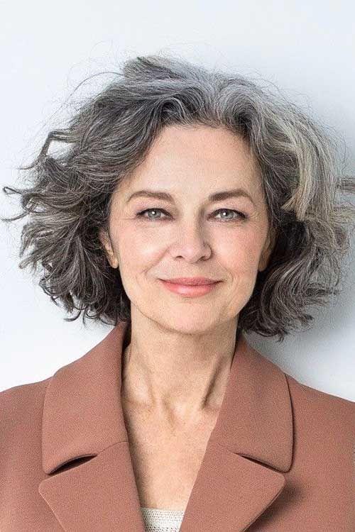 Short Haircut Older Women