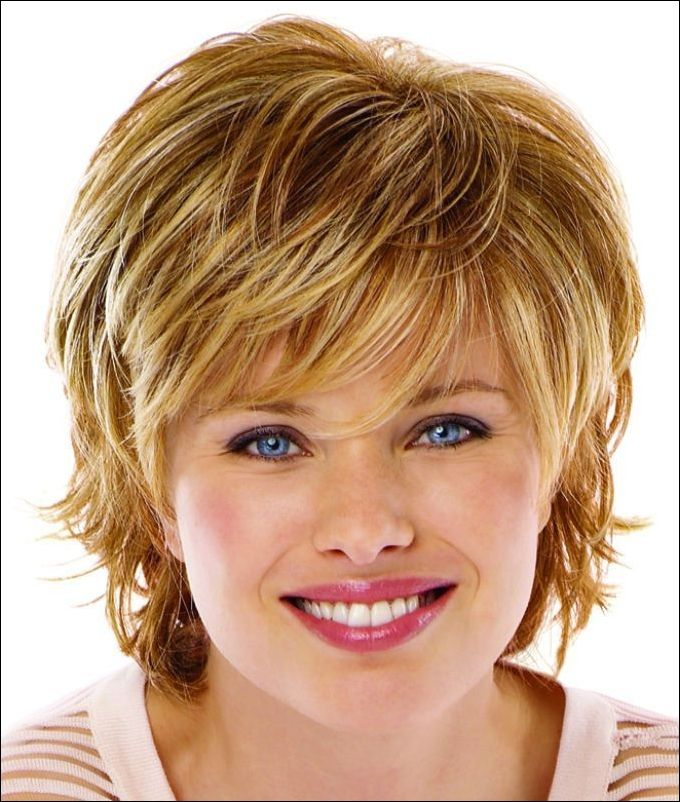 Short Hairstyles for Round Faces #VIPBOB