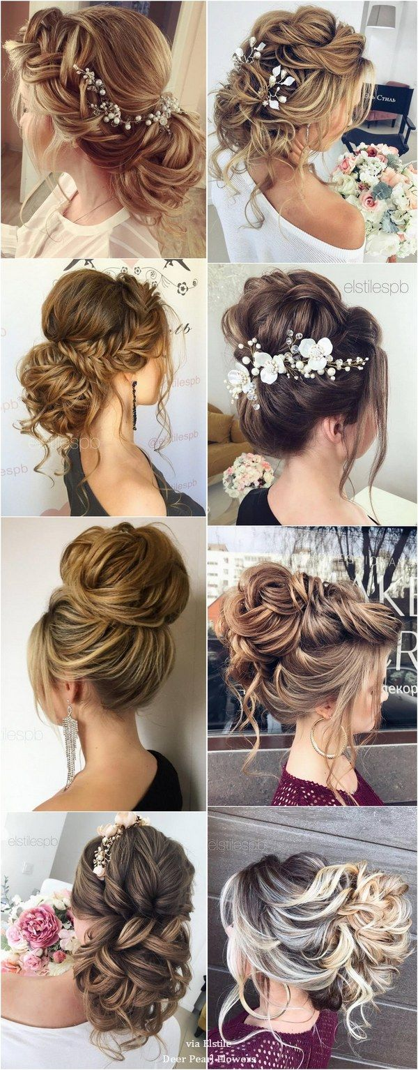 40 Best Wedding Hairstyles For Long Hair / www.deerpearlflow...