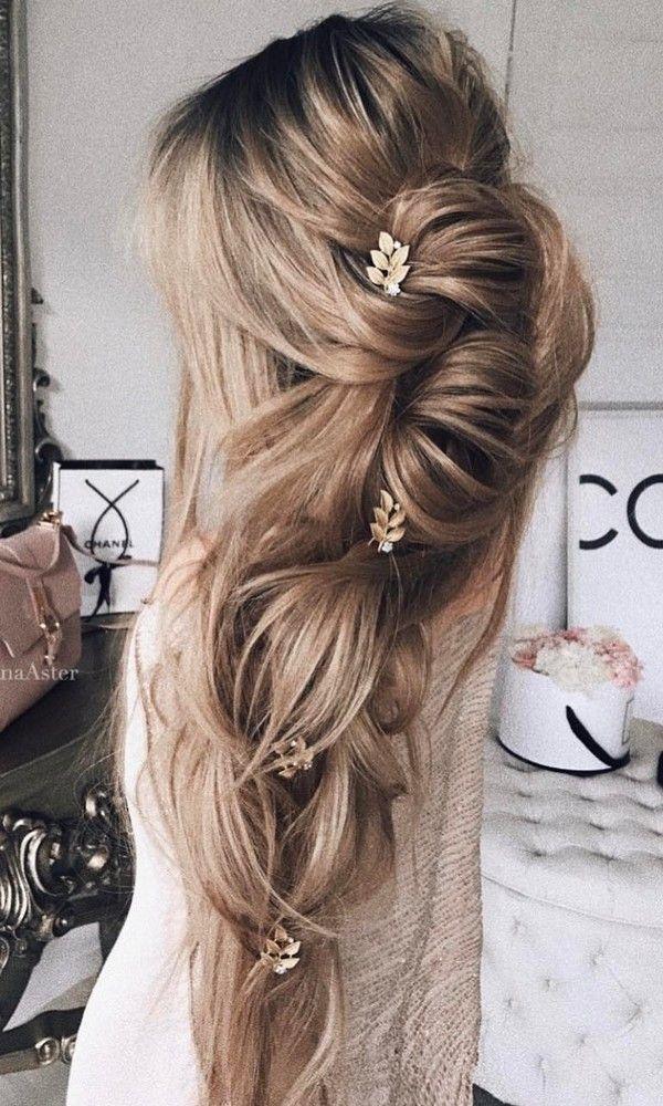 50 Long Wedding Hairstyles from 5 Best Instagram Hairstylists | Deer Pearl Flowe...