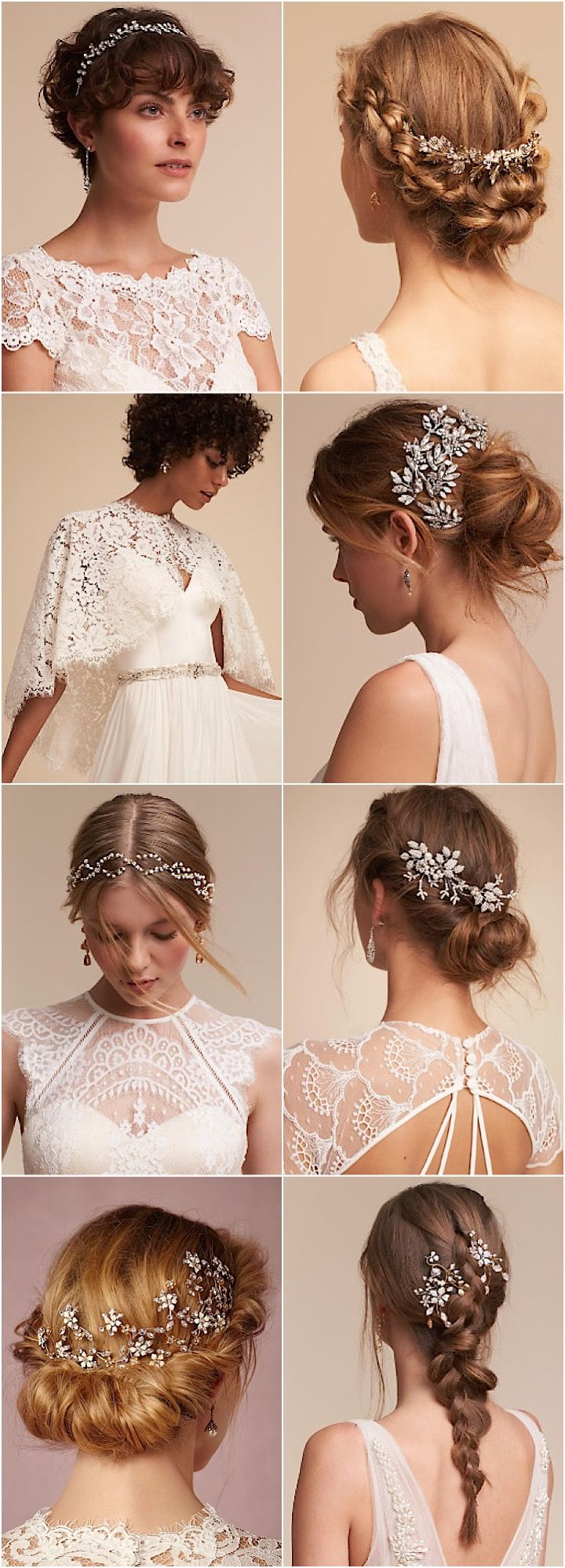 BHLDN winter wedding hair accessory ideas