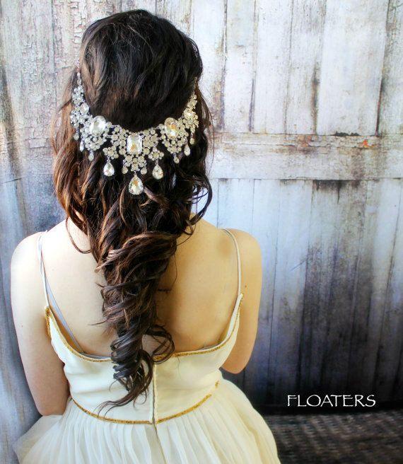 Bridal Hair Accessories, Wedding Hair accessories, Bridal Headpiece, Wedding Hea...
