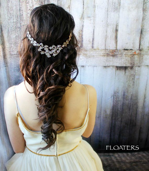 Bridal Hair Accessory, Wedding Headpiece, Hair Jewelry, Gold Headpiece, Brides, ...