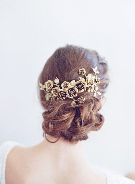 Bridal headpiece Rose gardens headpiece Style 775 Made
