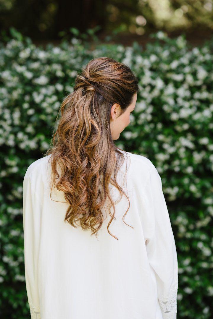 Featured Photographer:Caitlin O'Reilly Photography; wedding hairstyle idea