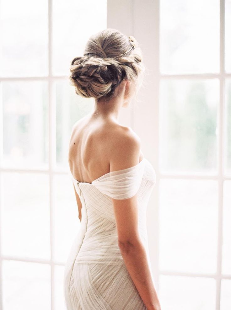 Featured Photographer: Sally Pinera Photography; wedding hairstyle idea