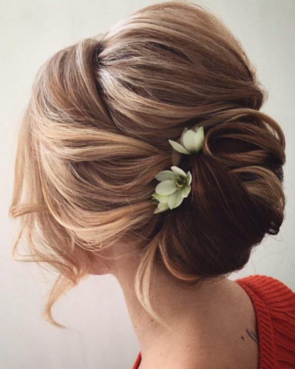 Lena Bogucharskaya Wedding Updo Hairstyles / www.deerpearlflow...