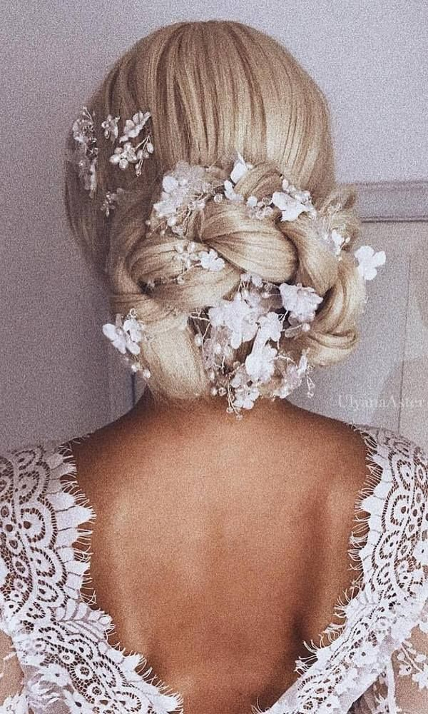 Ulyana Aster Long Wedding Hairstyles / www.deerpearlflow...