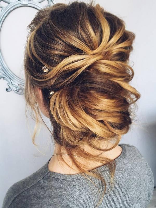 Wedding Hairstyles for Long Hair form Tonyastylist | Deer Pearl Flowers
