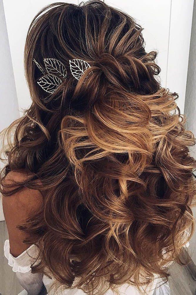 30 Elegant Wedding Hairstyles For Stylish Brides ❤ See more: www.weddingforwar...
