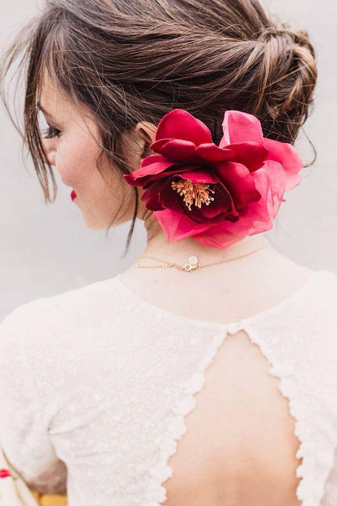 33 Gorgeous Blooming Wedding Hair Bouquets ❤ See more: www.weddingforwar... #w...