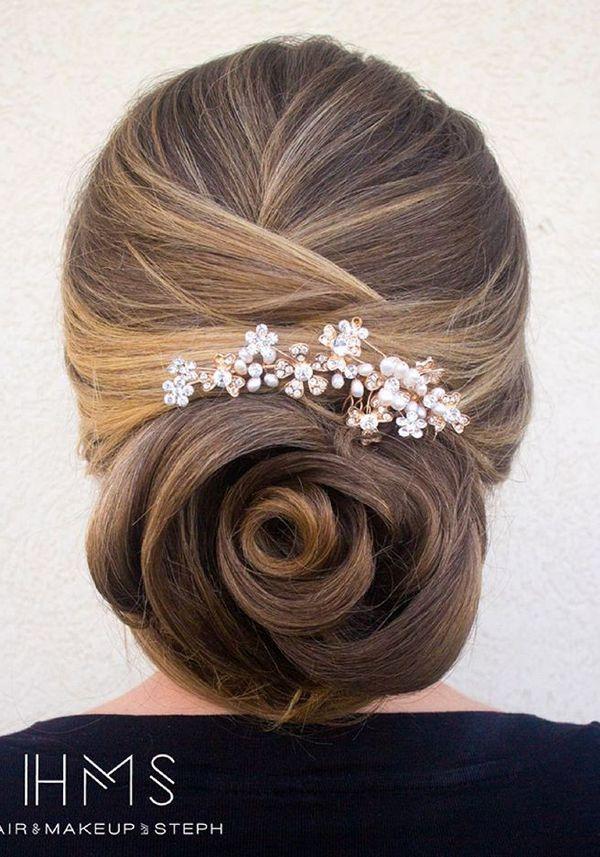 50 Incredible Long Wedding Hairstyles from Hair & Makeup by Steph | Deer Pearl F...