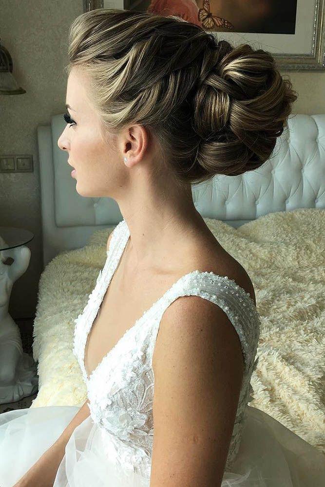 24 Trendy Swept-Back Wedding Hairstyles ❤ See more: www.weddingforwar... #wedd...