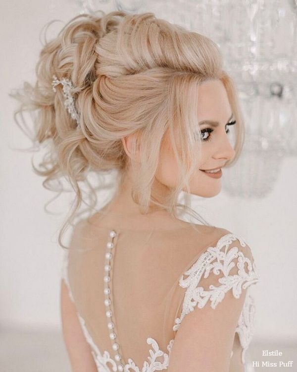 100 Wow-Worthy Long Wedding Hairstyles from Elstile | Hi Miss Puff - Part 24