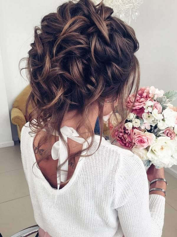 Wedding Hairstyles : Half-updo, Braids, Chongos Updo Wedding ...