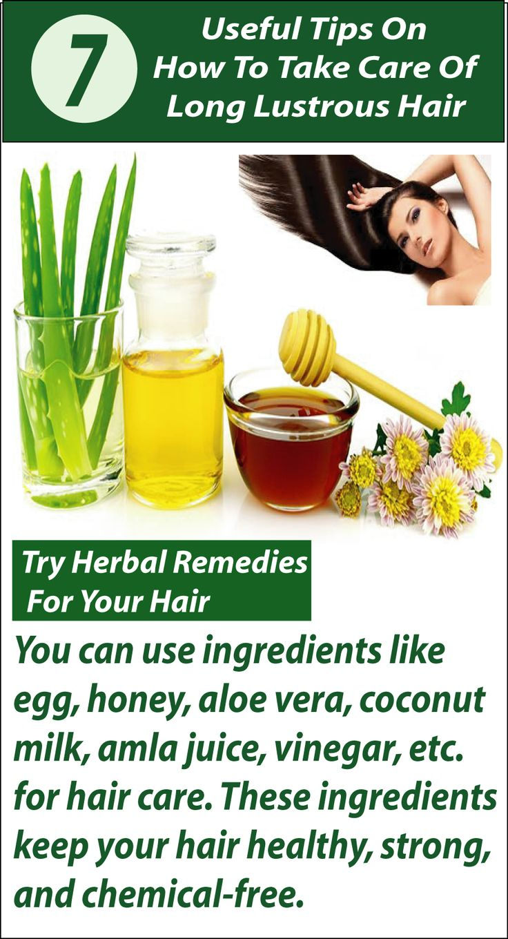 Concerned how to take care of long hair? No worries just follow these easy tips ...