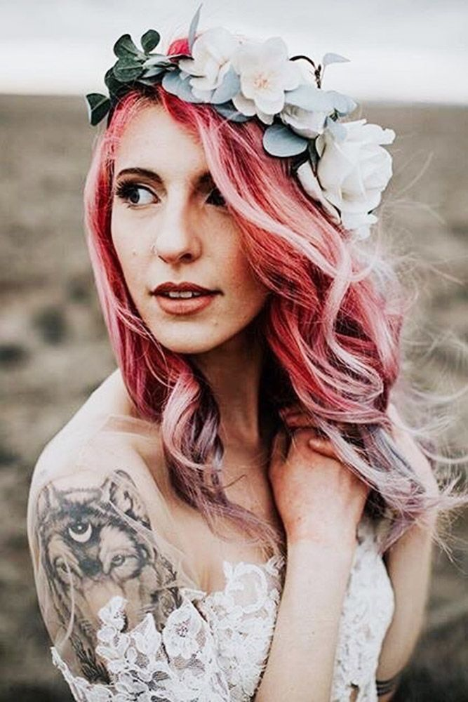 30 Modern Wedding Hairdos To Be In Trend ❤ See more: www.weddingforwar... #wed...