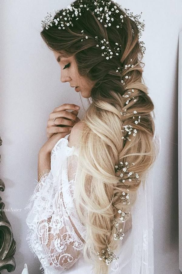 Ulyana Aster Long Wedding Hairstyles & Wedding Updos / www.deerpearlflow...
